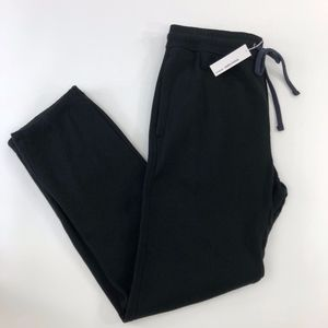 NWT JAMES PERSE Black cotton loungers MXA1161